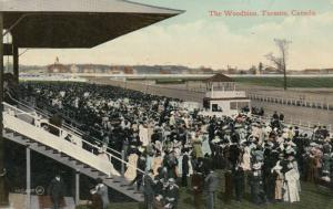 TORONTO, Ontario , 1911 ; Woodbine Horse Race Track ; Stands
