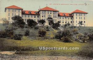 St John's Orphan Asylum Utica NY 1913