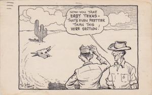 Texas Humour East TExas Prettier Than This Here section 1944