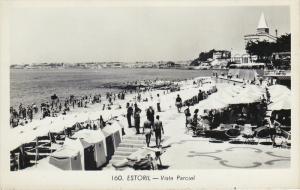 RP, Vista Parcial, People Bathing, ESTORIL, Portugal, 1920-1940s