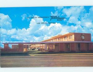 Unused Pre-1980 DOWNTOWN TRAVELODGE MOTEL Las Vegas Nevada NV c0318