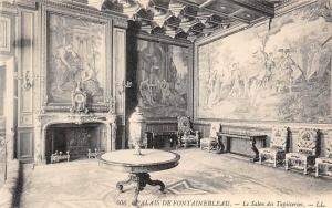 France Palais de Fontainebleau, Le Salon des Tapisseries