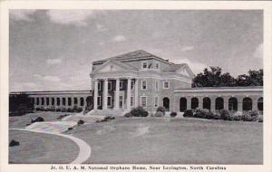 Jr O U A M National Orphans Home Lexington North Carolina