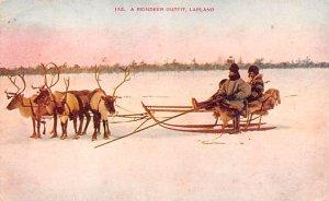 Reindeer Outfit Lapland Norway 1911