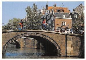 Netherlands Reguliersgracht Bridge Bicycles Pont