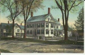 Brunswick,  Maine, Harriet Beecher Stowe- House