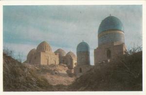 Central Asia UZBEKISTAN Samarqand Shah-i Zindah Mausoleum Qadi-Zadah Rumi