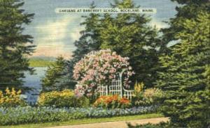 Gardens, Bancroft School Rockland ME 1946