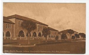 North Facade Stanford University Palo Alto California 1910s postcard