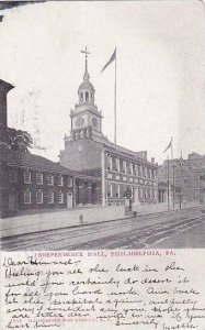 Pennsylvania Philadelphia Independence Hall 1908