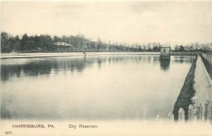 PA, Harrisburg, Pennsylvania, City Reservoir, Koeber Co. No. 3975