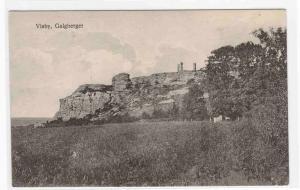 Galgberget Visby Gotland Sweden 1910c postcard