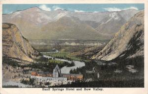 9000 Canada Baniff   Banff Springs Hotel and Bow Valley