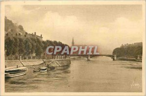 Postcard Old Lyon (Rhone) View on the Saone