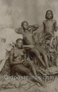 Egypt African Nude Unused