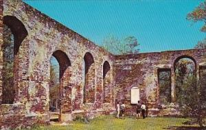 North Carolina Wilmington Ruins Of Old Saint Philips Church