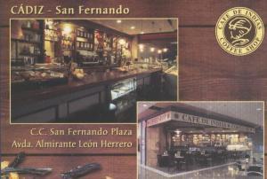 Postal 6063 : Publicitaria Cafe de Indias, San Fernando, Cadiz