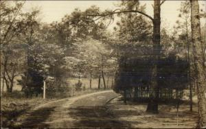 Southern Pines NC c1930 Real Photo Postcard