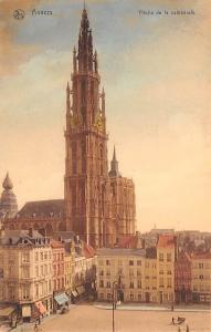 Anvers Belgium, Belgique, Belgie, Belgien Fleche de la Cathedrale Anvers Flec...