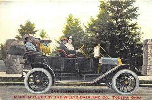 Toledo OH Willys-Overland Model 59-T Postcard