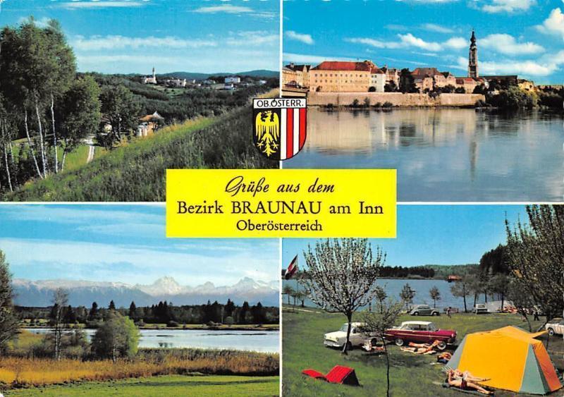 Gruesse aus dem Bezirk Braunau am Inn Kobernausserwald Camping Auto Cars