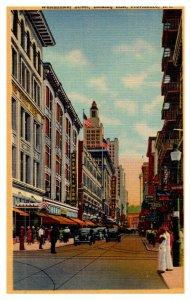 Rhode Island  Providence   Westminster Street, Looking East,