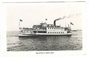 RP, The Statue Of Liberty Boat, Madisonville, 1930-1950s