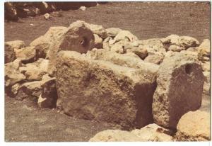 Megiddo, The Stables, 900-1000 BC, unused Postcard