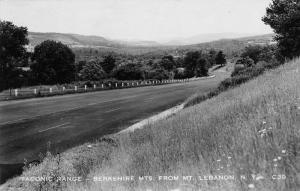 Mt Lebanon New York Berkshire Mts Real Photo Antique Postcard K92528
