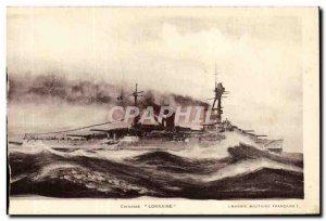 Old Postcard Lorraine Breastplate
