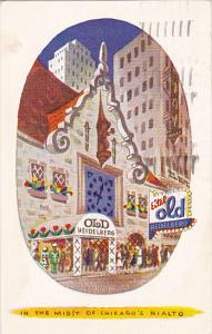 Eitel Old Heidelberg German Restaurant Chicago Illinois 1949