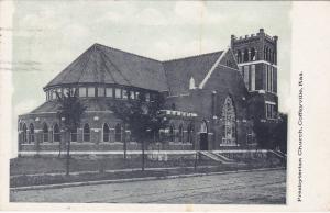 COFFEYVILLE, Kansas , PU-1908; Presbyterian Church