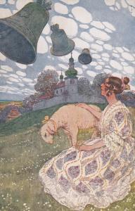 Woman & a lamb , 00-10s