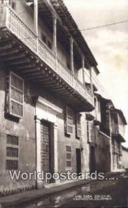 Columbia Cartagena Una Casa Colonial Real Photo