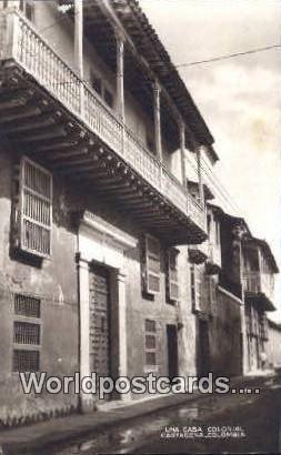 Columbia Cartagena Una Casa Colonial Real Photo