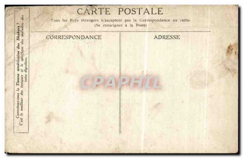 Old Postcard Rouget de L & # 39isle the Marseillaise sung by Dietrich Mayor o...