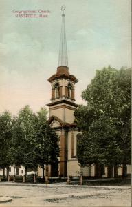 MA - Mansfield. Congregational Church