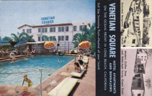 LONG BEACH , California , 50-60s ; Venetian Square