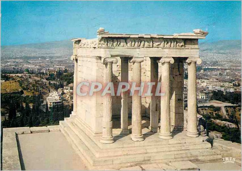 Postcard Modern Anthenes The Temple of Victory