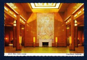 CA Queen Mary Cruise Ship Lounge LONG BEACH CALIFORNIA