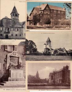 CEIGNAC Aveyron 38 Cartes Postales 1900-1940