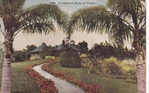 California A California Home In Winter
