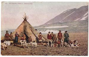 Eskimo Family, Greenland