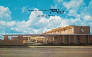 LAS VEGAS , Nevada , 1950-60s ; Downtown Travelodge