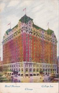 Illinois Chicago Hotel Sherman College Inn