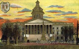 Columbia, USA United States State Capital Building Postcard Post Card  Columb...