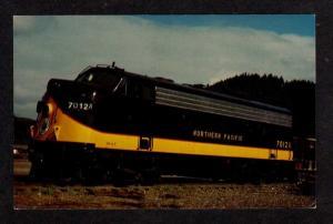 WA Northern Pacific Railroad Train MINERAL WASHINGTON