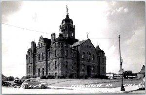 Warrensburg, Missouri RPPC Real Photo Postcard JOHNSON COUNTY COURT HOUSE c1950s