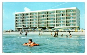 The Schooner Motor Inn, Virginia Beach, VA Postcard *6L(2)21