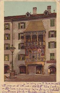 Innsbruck, Gold, Dachi, Tirol, Austria, PU-1911